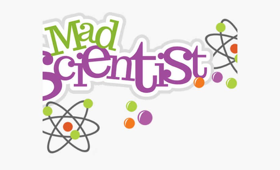 Mad science cliparts.
