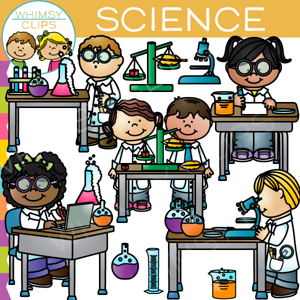 Science school clipart.