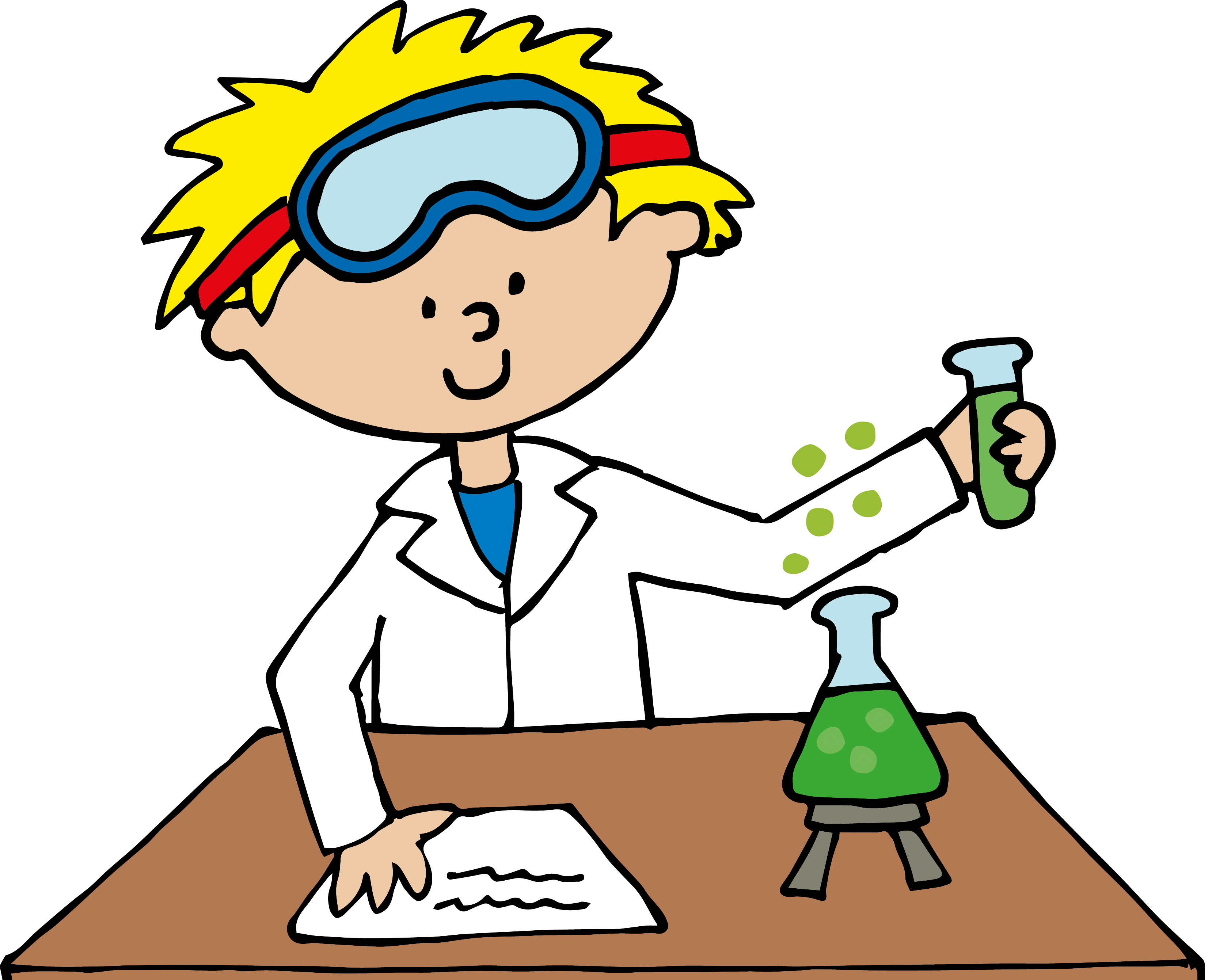 Scientist science project.
