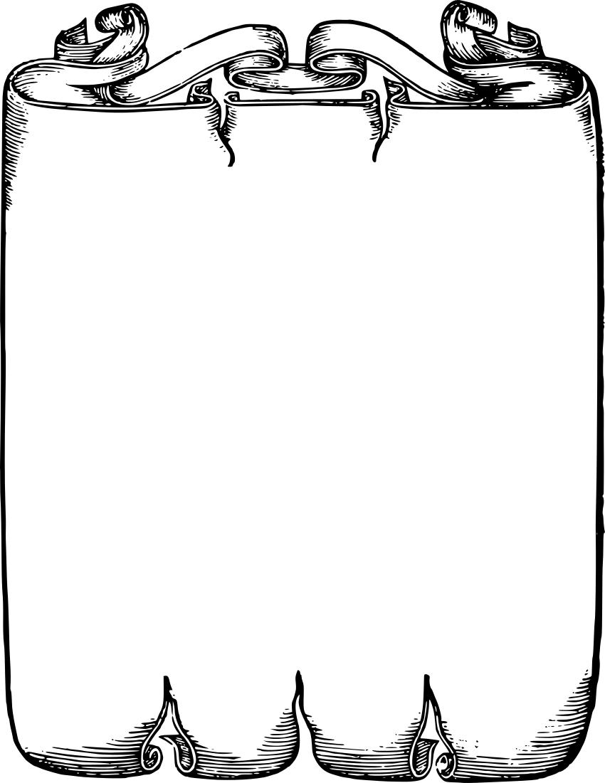 Free scroll borders.