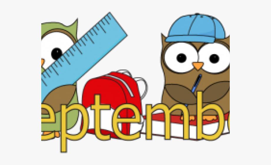 Back To School Clipart September