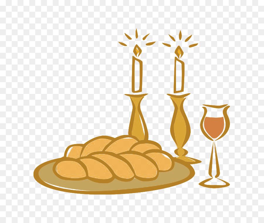 Shabbat candles png.