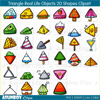 Triangle real life.
