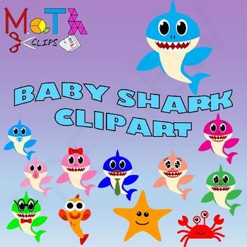 Baby shark family.