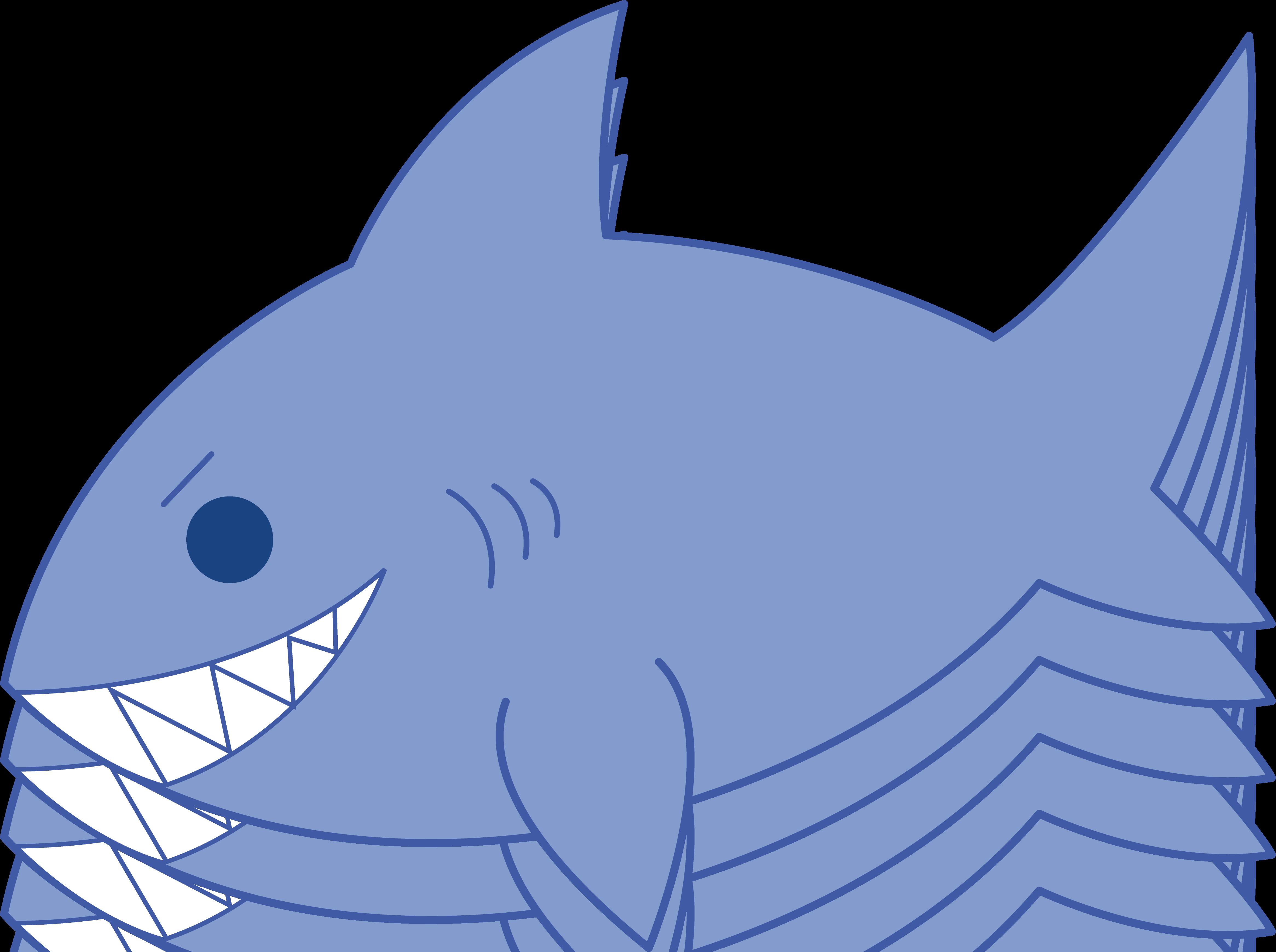 Free cartoon shark.