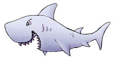 Shark clipart reward.