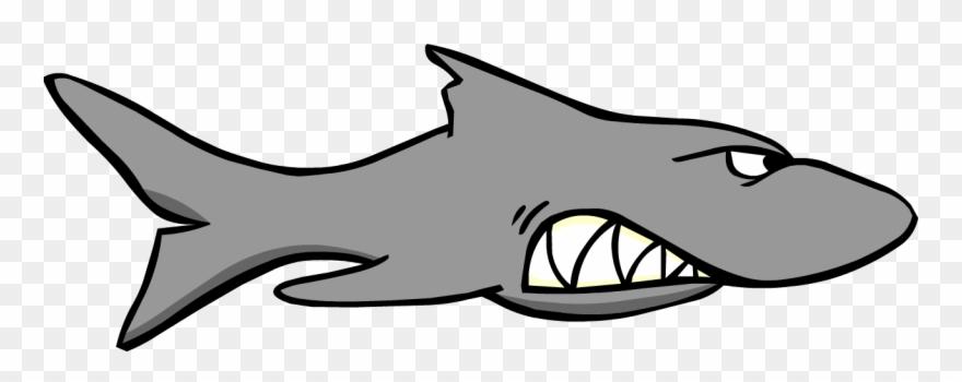 Clipart shark megalodon.