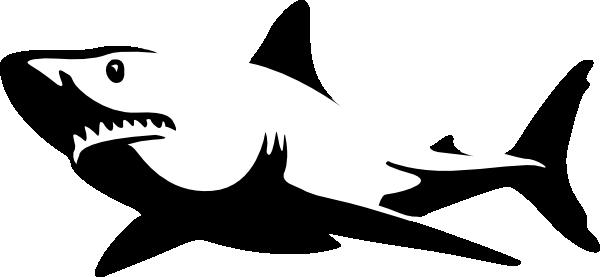 Free shark silhouette.