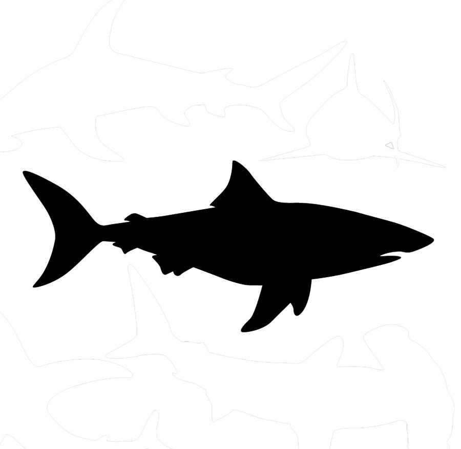 Free Shark Silhouette, Download Free Clip Art, Free Clip Art