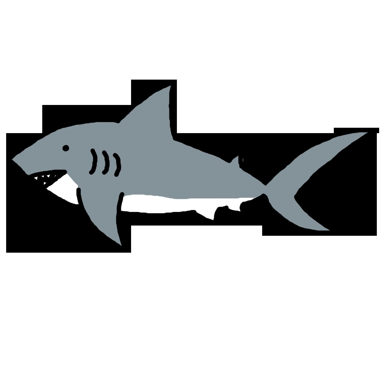 Hammerhead shark clipart.