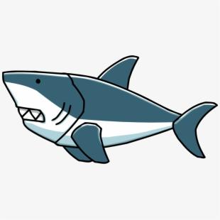 Shark transparent background.