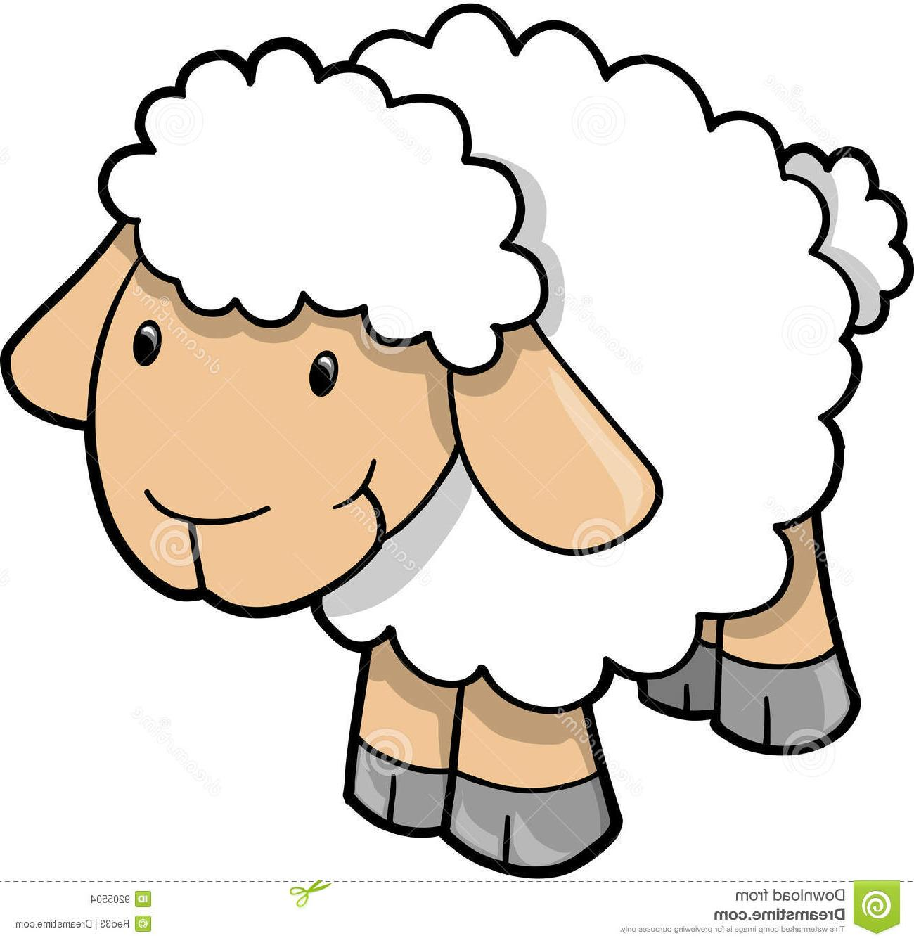 Show lamb clipart.