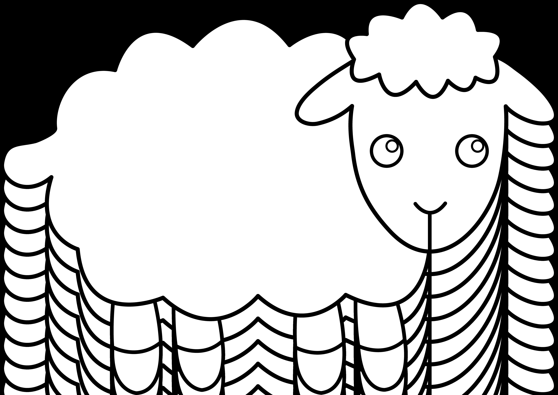 black sheep clipart cute