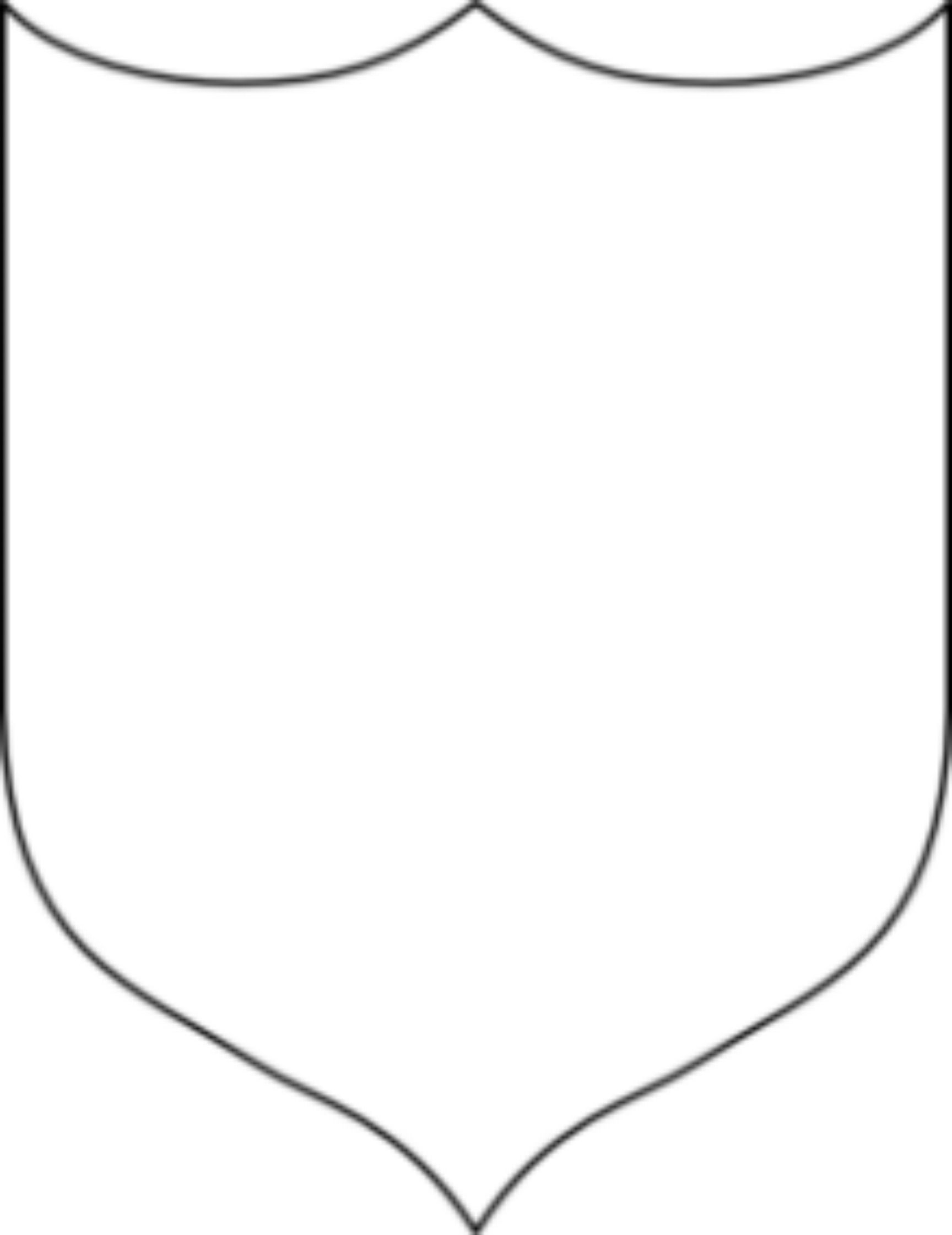 Cool shield template.