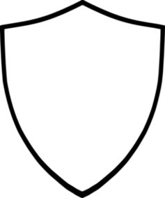 Shield clipart look.
