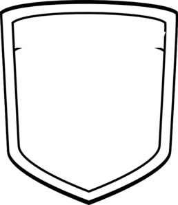 Blank shield 222.