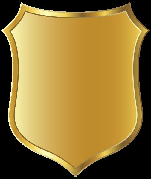 Badge template