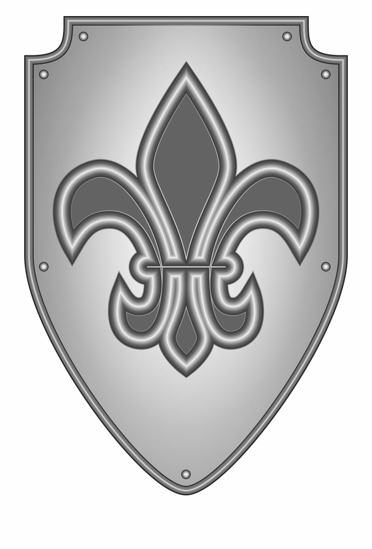 Heraldry knight medieval.