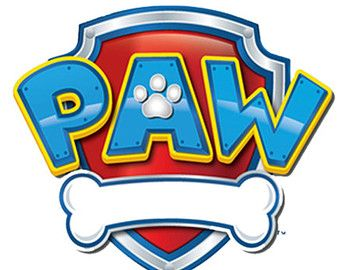 Paw patrol badges clipart.