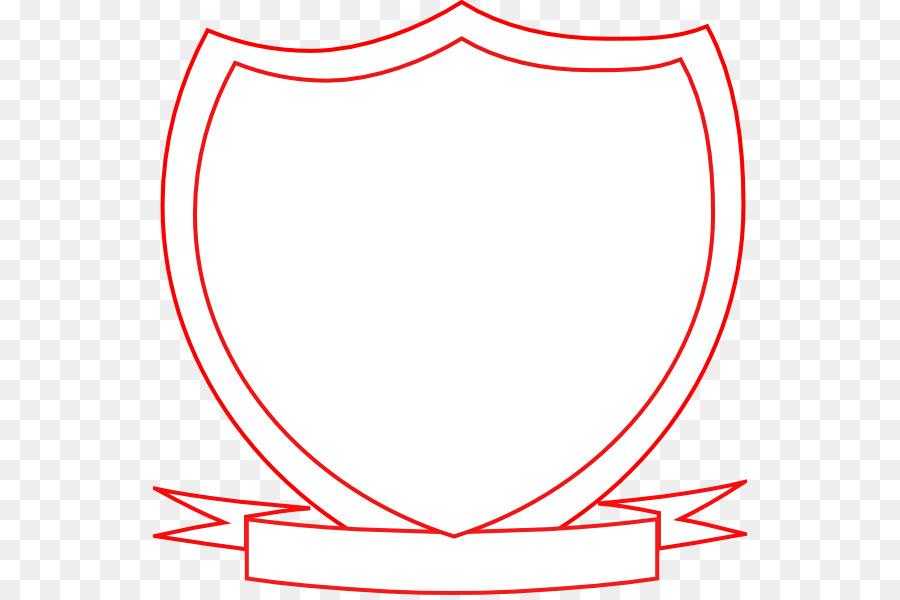 Shield template clipart.