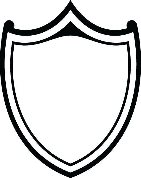Shield clipart vector.