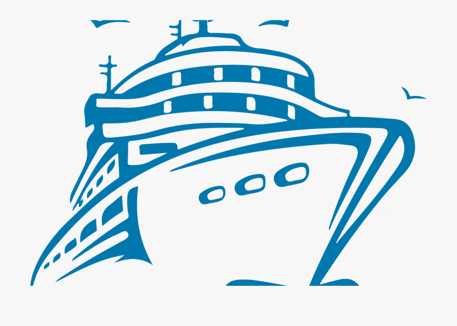 Transparent cruise ship.