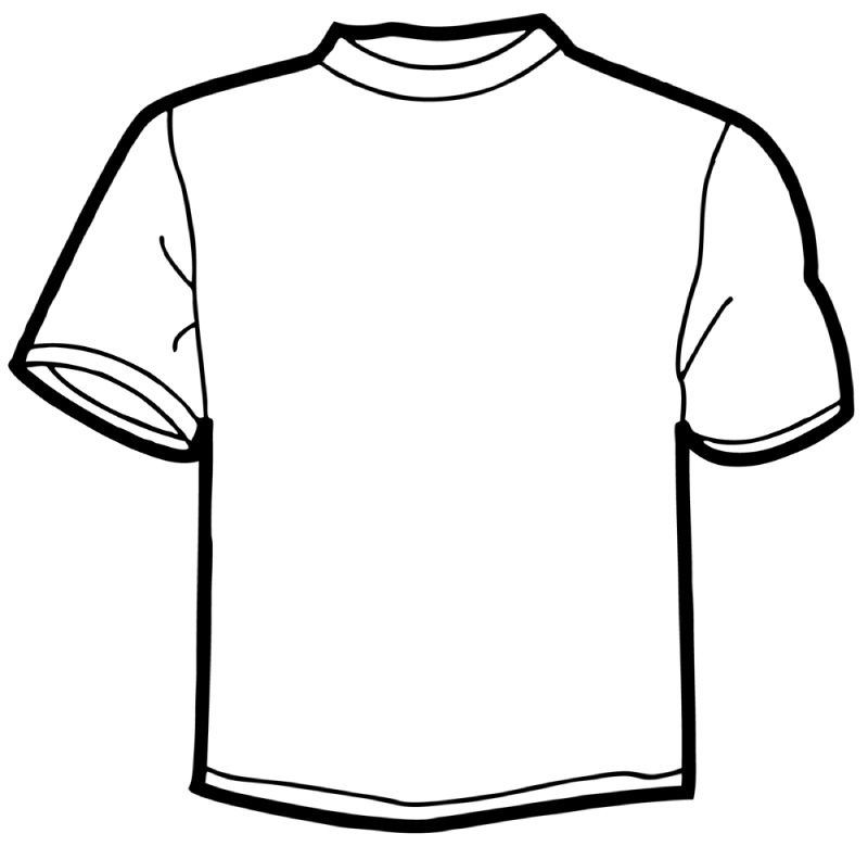 Online shirt template.