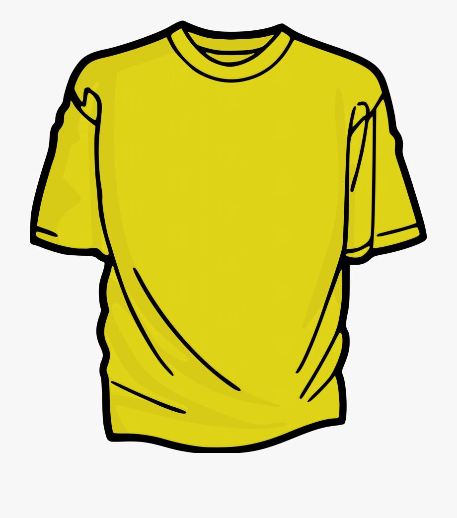 People yellow shirts.