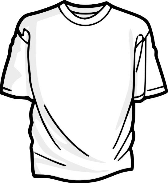 Blank shirt clip.
