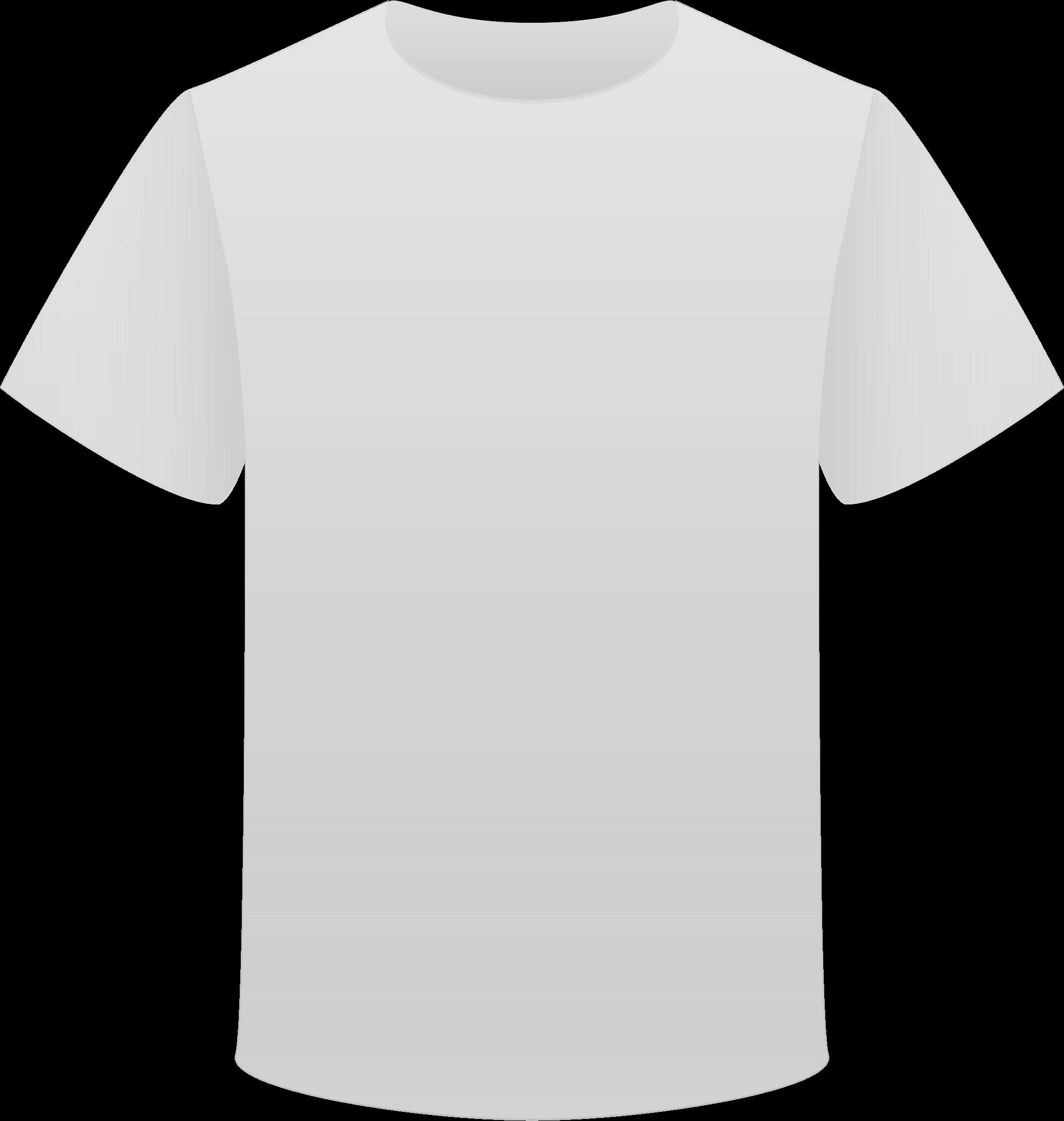 Tshirt white clipart.