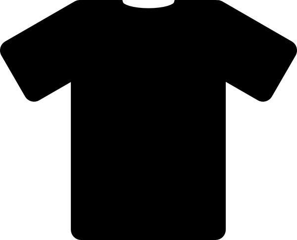 Black shirt clip.