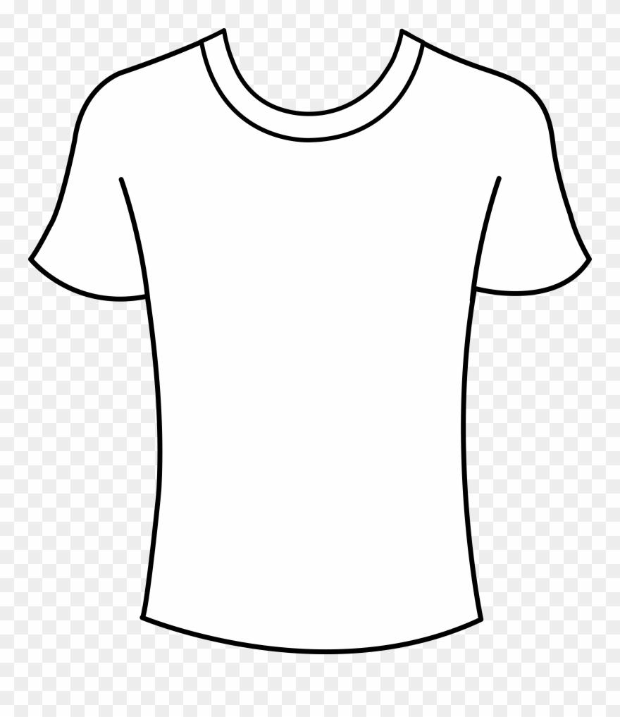 Shirt shirt outline.