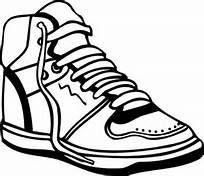 Sneaker clip art.