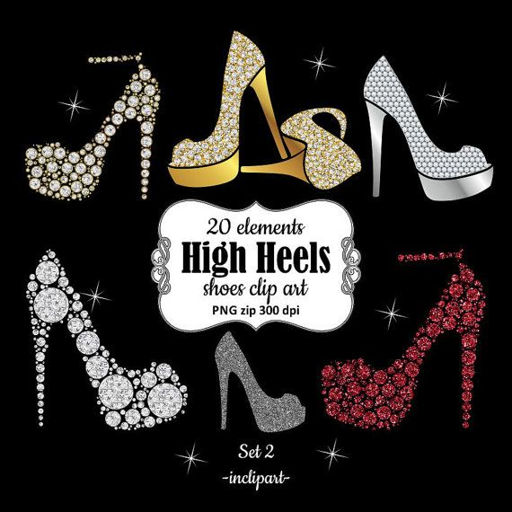 High heel diamond