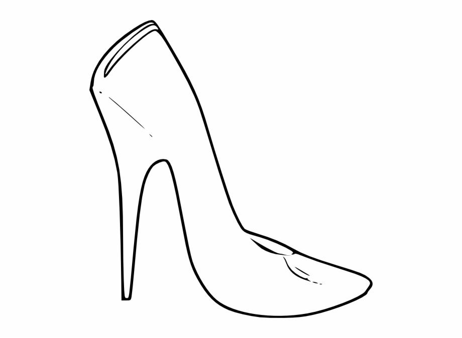 High heel shoes.