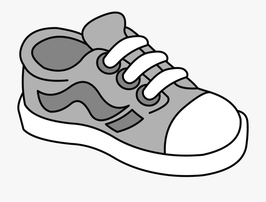 Tenis shoes clipart.