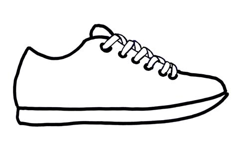 Collection shoe clipart.