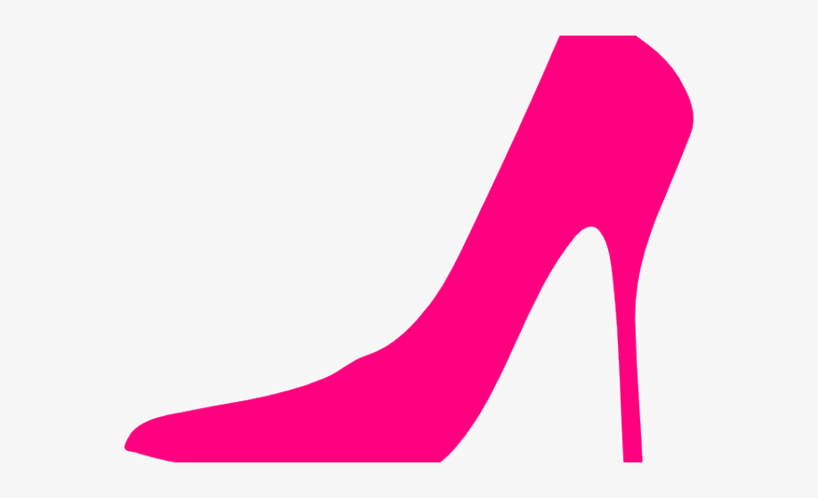 Shoe clipart pink.