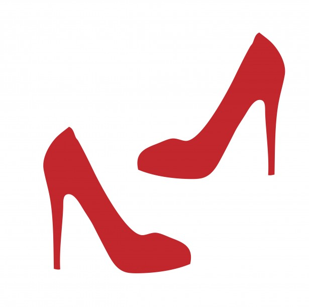 Red Shoes Clipart Free Stock Photo