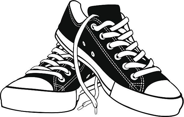 Shoe clipart pair.