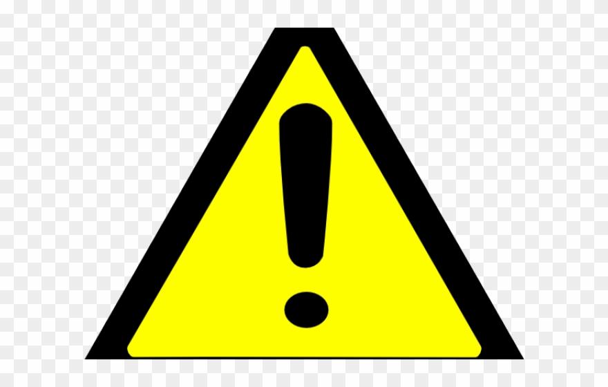 Warning Clipart Yellow