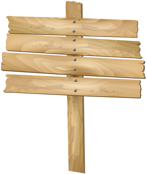 Free Wood Sign Transparent Background, Download Free Clip
