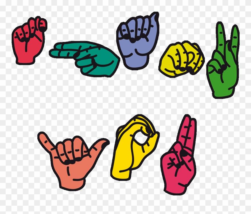 sign language clipart school