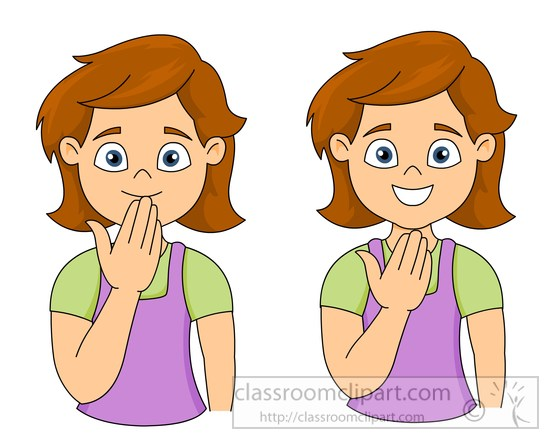 sign language clipart thank you