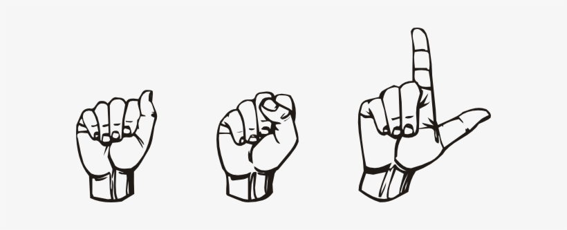 sign language clipart transparent