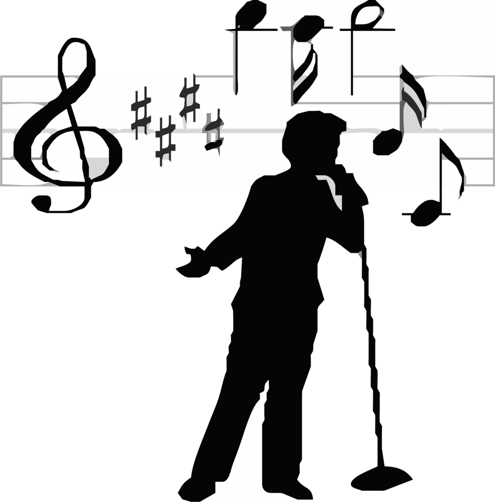Singing clipart male singer. Singing clipart male singer. Man transparent