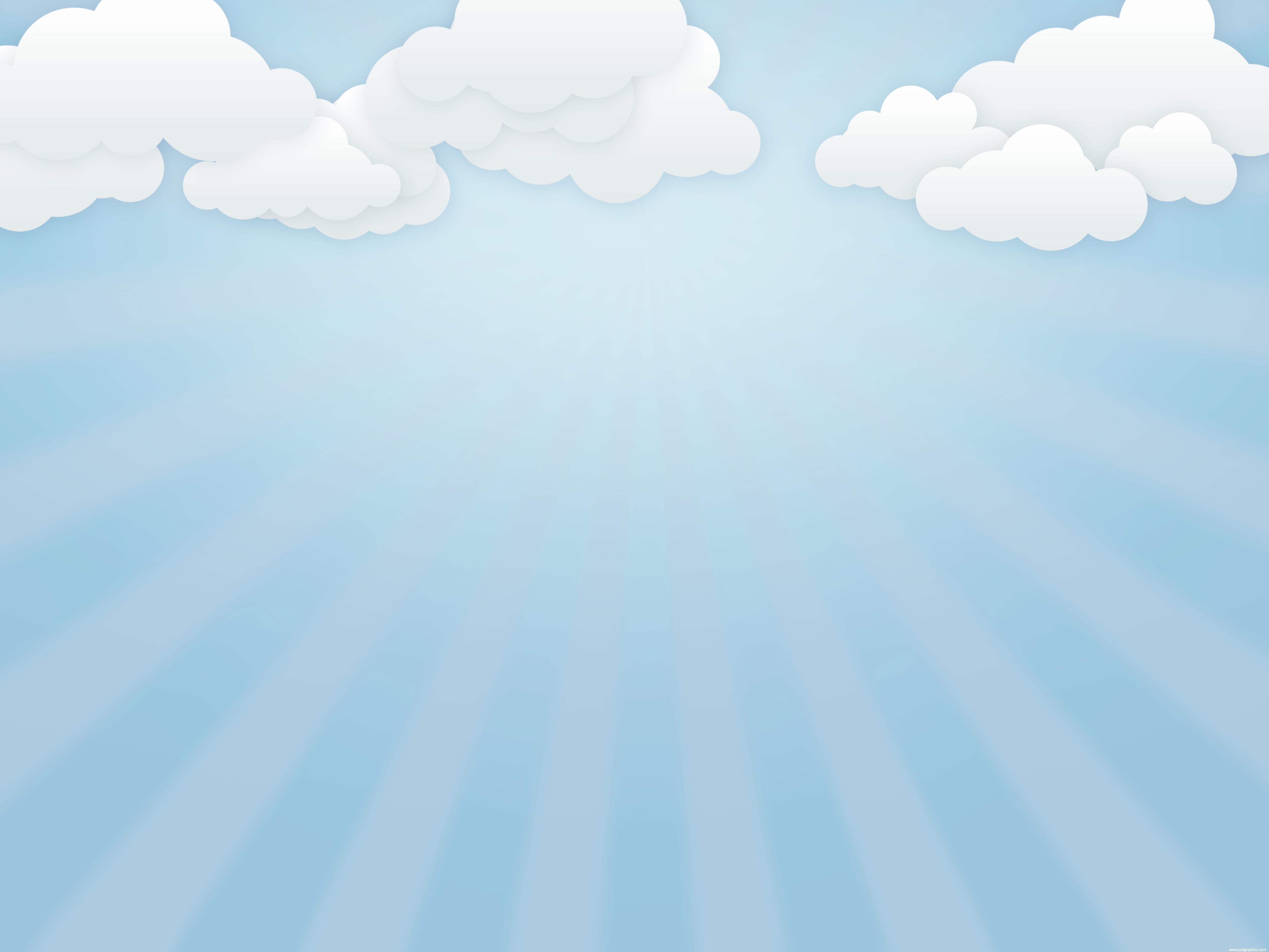 Free cloudy sky.