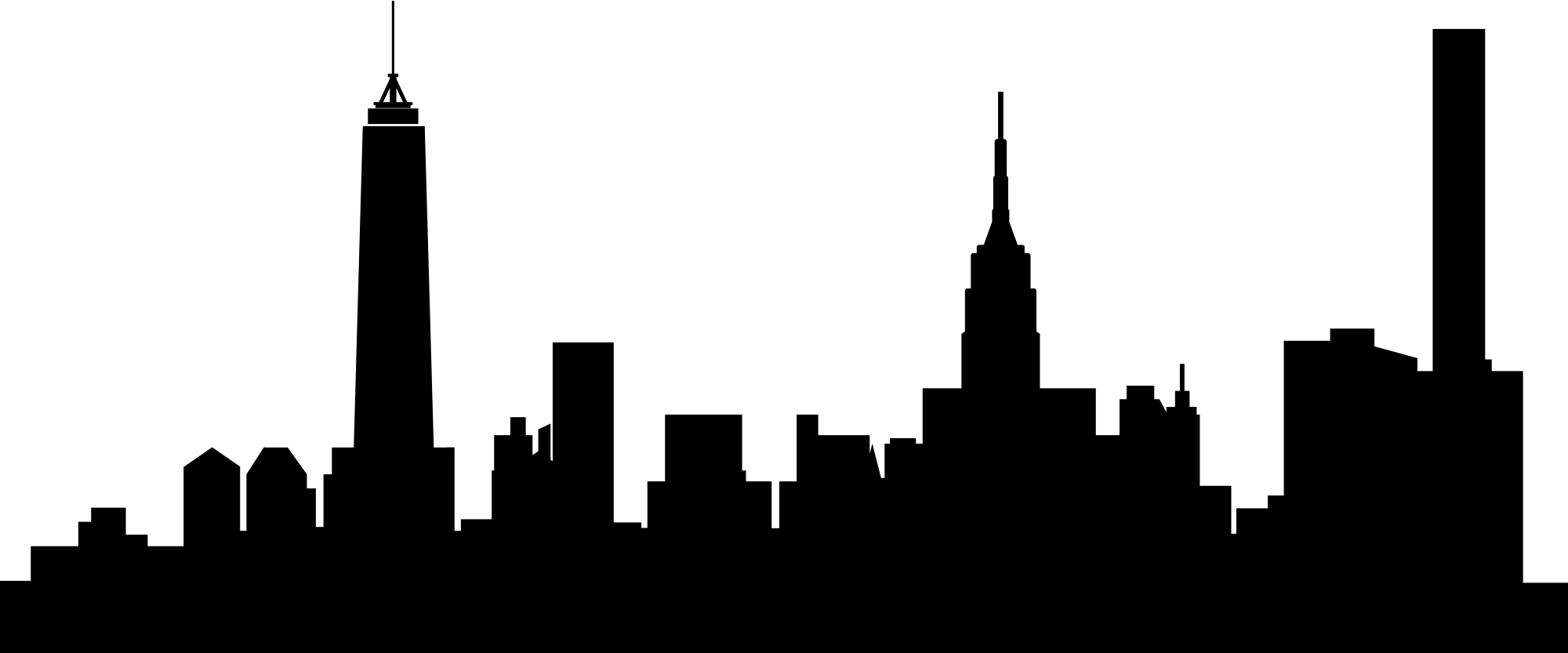 Queens skyline skyscraper.