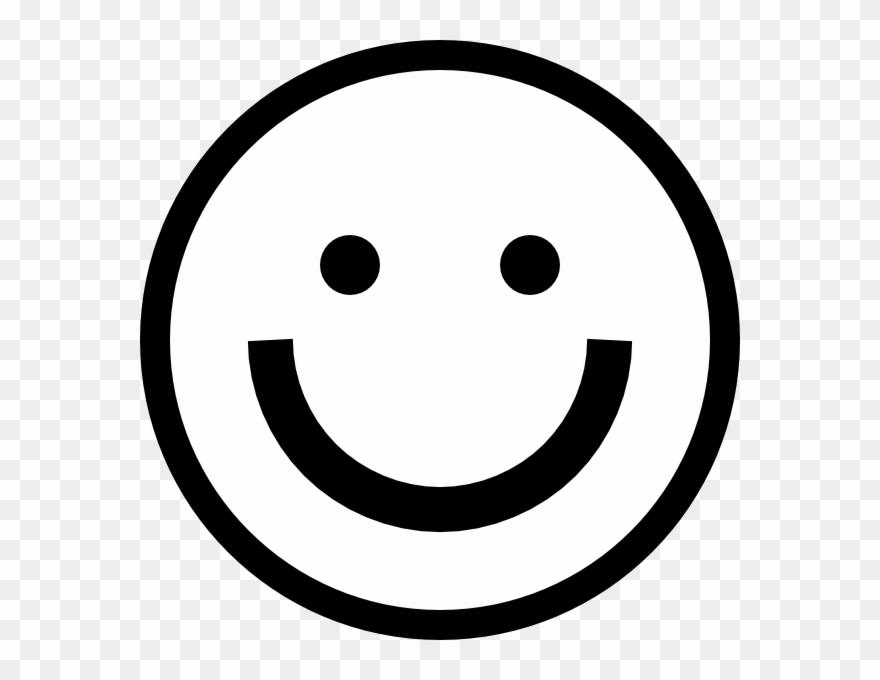 Smiley face black.