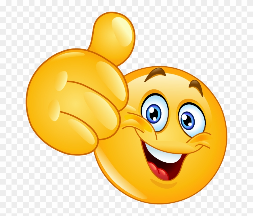 clipart smile thumbs up